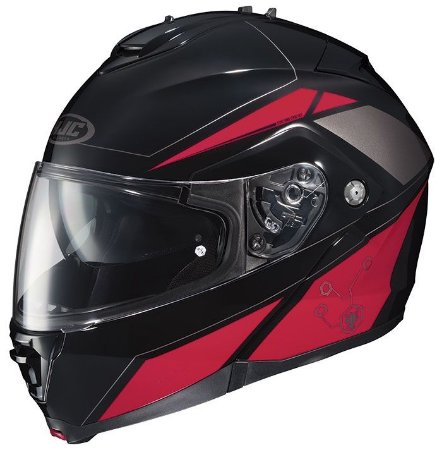 Capacete Hjc Is-Max II Elemental Red Robocop