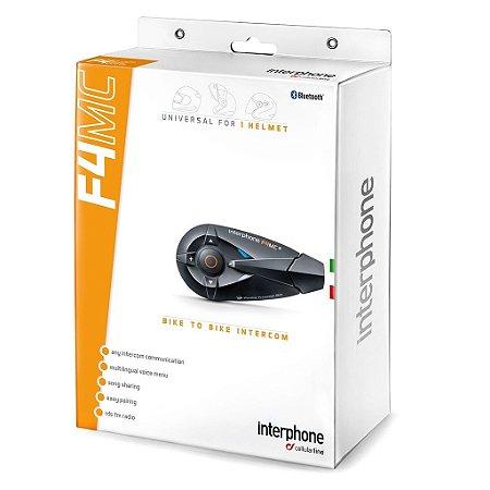 Intercomunicador Unitário Interphone F4mc