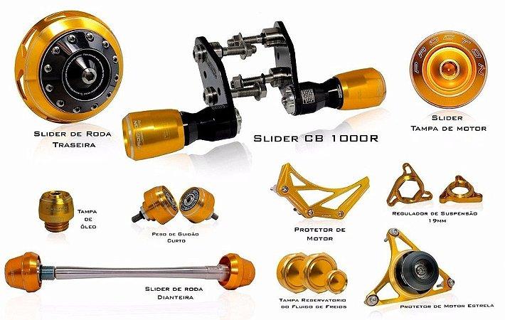 Kit de Slider Procton - Honda CB 1000R Full (12 itens + cabeça F1)