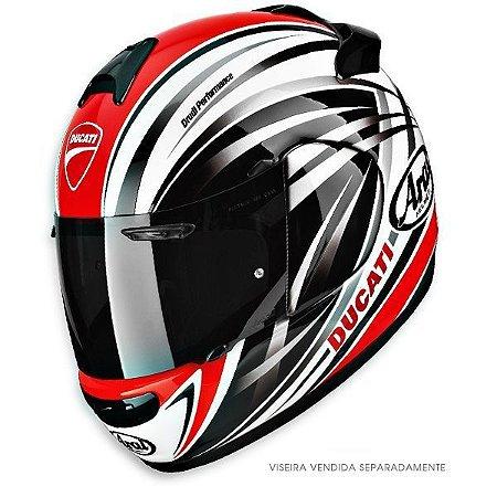 Capacete Arai Helmet Chaser 2 Ducati Stripes