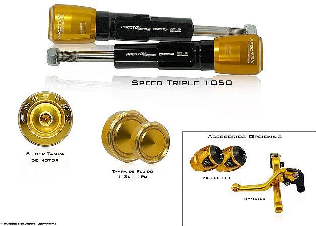 Kit de Slider Procton - Triumph Speed Triple 1050