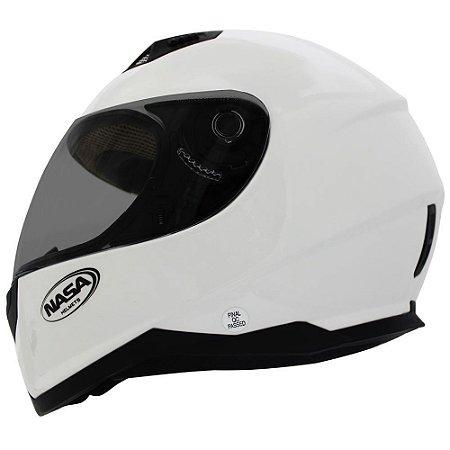 Capacete Nasa Sh-881 Branco