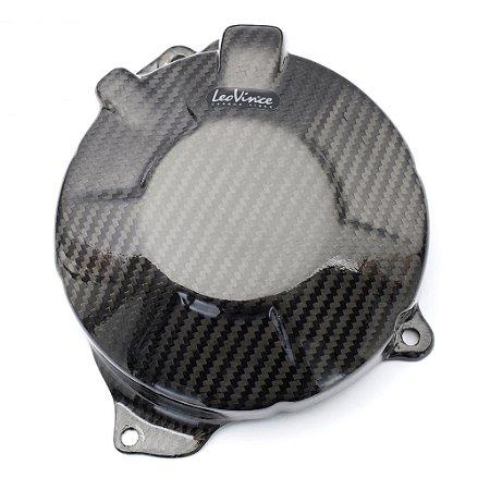 Protetor De Motor em Carbono Leovince Alternador Honda CB 600F Hornet 2007 - 2014