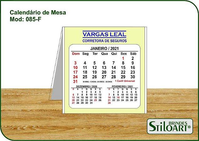 Calendário de Mesa 085-F