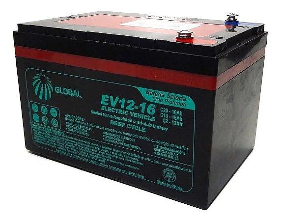 Bateria VRLA 12v 16ah GLOBAL