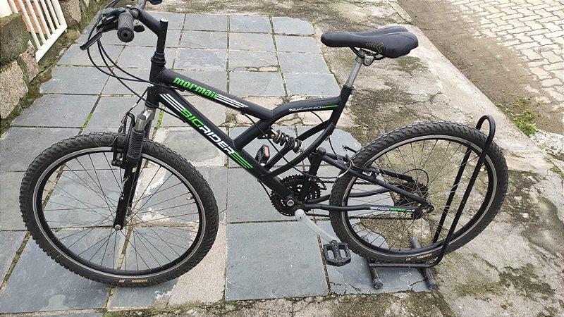 Bicicleta aro 26 Mormaii Full Suspension