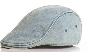 cd35b2a91ee80 Boina jeans para meninos - Super Estilosos - Super Estilosos ...