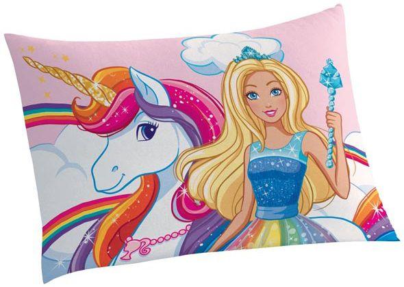 Fronha Avulsa Estampada Barbie Reinos Mágicos - Lepper