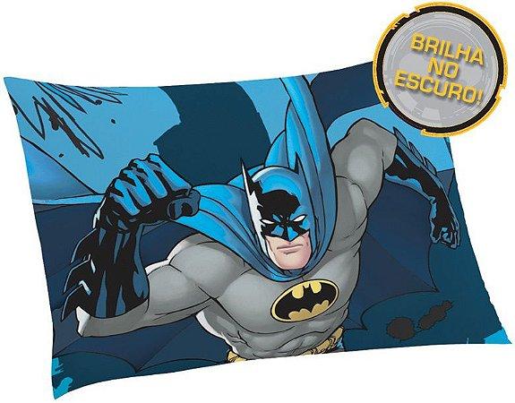 Fronha Avulsa Estampada Batman Brilha No Escuro - Lepper