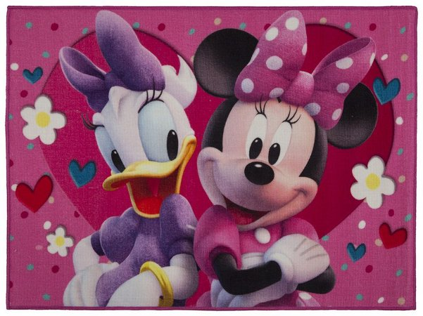 Tapete Infantil Disney Antiderrapante 80x110 Amigas - Corttex