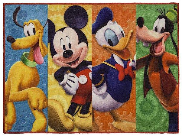 Tapete Infantil Disney Antiderrapante 80x110 Amigos - Corttex