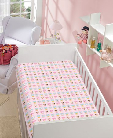 Manta Baby Soft Disney 90x110 Minnie e Margarida - Jolitex
