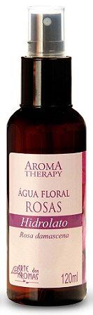 Arte dos Aromas  - Água Floral Hidrolato Rosas 120ml