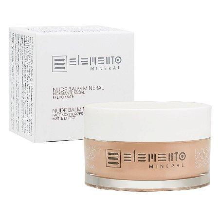 Elemento Mineral  - Nude Balm Hidratante Facial Efeito Mate 50g