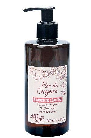Arte dos Aromas  - Sabonete Líquido Flor de Cerejeira  250ml