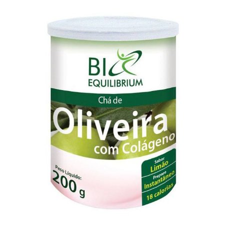 Chá de Oliveira com Colágeno sabor Limão