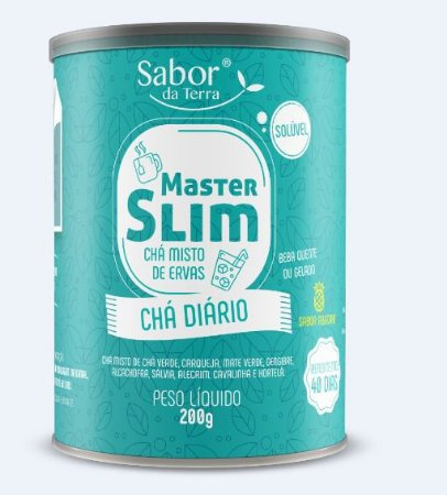 Chá Diário Master Slim 200g