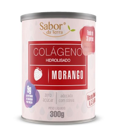 Colágeno Hidrolisado Morango