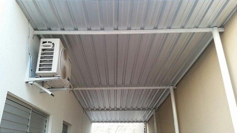 Cobertura Garagem em Telha Galvanizada Zinco