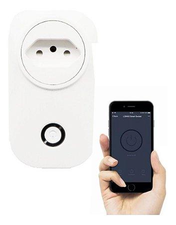Tomada Inteligente Liga Desliga Pelo Celular Sem Fio Wi-Fi Smart Socket Novo 2020