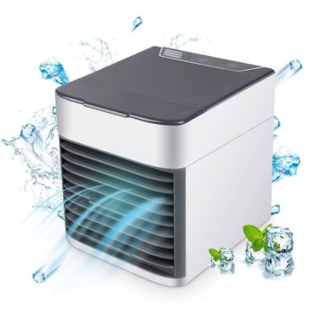 Mini Umidificador Climatizador Ar Condicionado Portátil Usb Baixo Consumo De Energia
