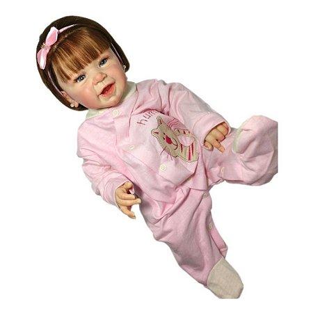 Bebê Reborn Corpo Todo Vinil Silicone Phoenix Realista Infantil Presente Doll Artesanato