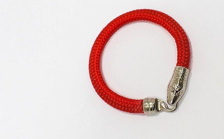 Pulseira Serpente Vermelha