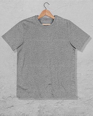 40 Camisetas Cinza Mescla - Algodão