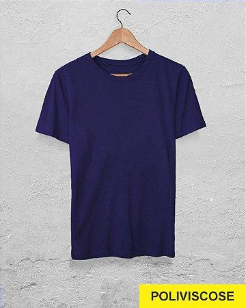 20 Camisetas Azul Marinho - Poliviscose