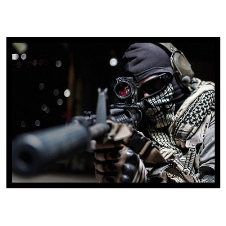 Quadro Personalizado Terrorist
