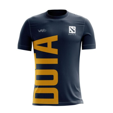 Camiseta Esportiva Jersey Proplayer Dota2 Azul