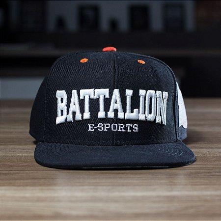 "BONÉ SNAPBACK ""ABA RETA"" BATTALION ESPORTS"