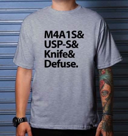 Camiseta Casual Weapons