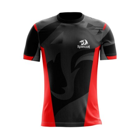 Camiseta Esportiva Jersey Redragon Brasil Oficial