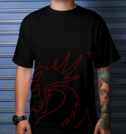 CAMISETA CASUAL REDRAGON