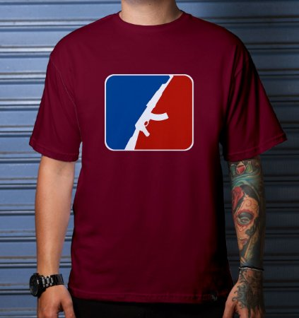 Camiseta Casual Baseball