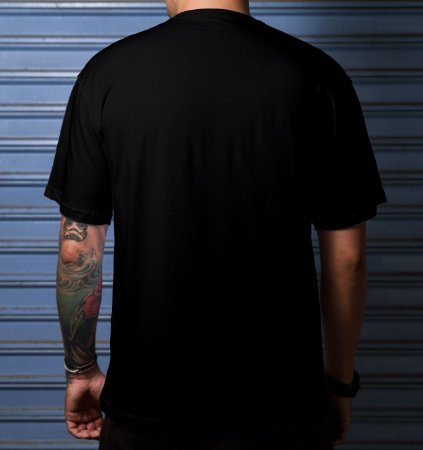 Camiseta Casual Smoke Mid