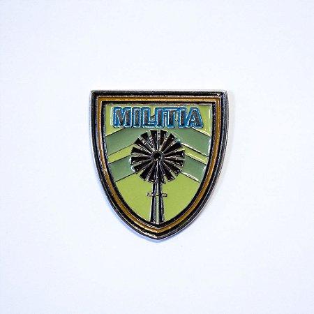 Pin Metálico Militia