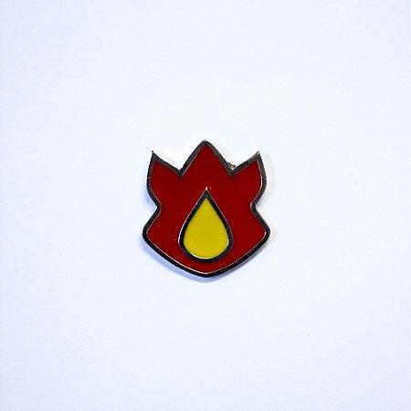 Pin | Metálico | Vulcão