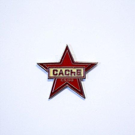 Pin Metálico Cache