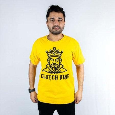 Camiseta Casual Clutch King Zigueira