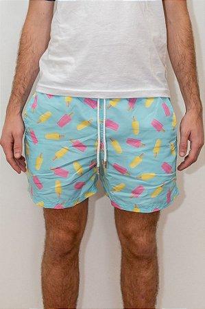 Shorts de Verão Picolé