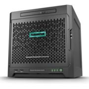 HPE Servidor Torre MicroServer G10 AMD OpteronTM X3216 2C 1.6GHz (1x Proc.), 8GB RAM, 1TB HD SATA, 1x Fonte 200W (com sistema operacional ClearOs)