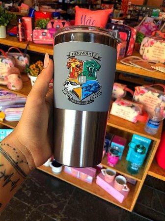 Copo viagem max 450ml Hogwarts Casas