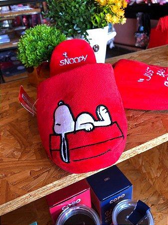 Chinelo de quarto Snoopy
