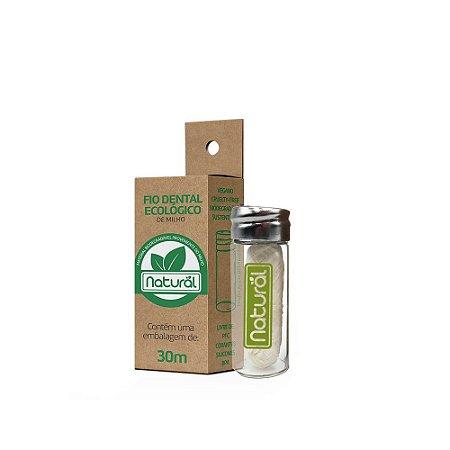 Fio Dental Ecológico de Milho 30mts Orgânico Natural