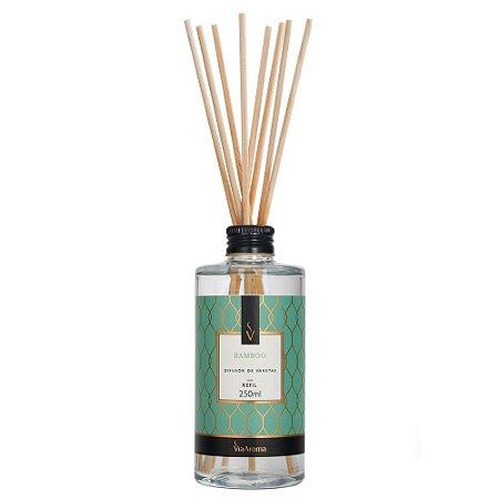 Difusor de Varetas Clássica Bamboo  250ml Via Aroma