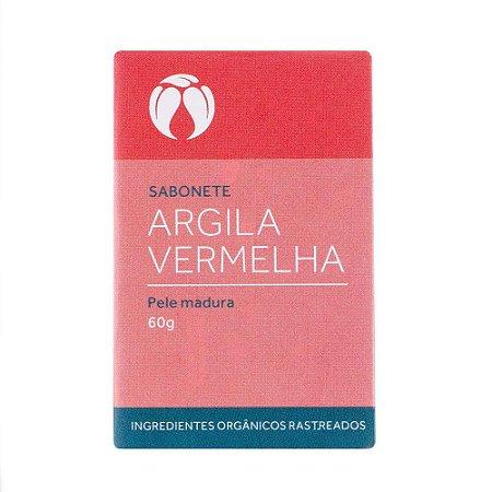 Sabonete Pele Madura 60g (Argila Vermelha) Cativa Naturez