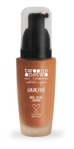 Base Facial Natural Vegano Color Fix nº06 40g Twoone Onetwo