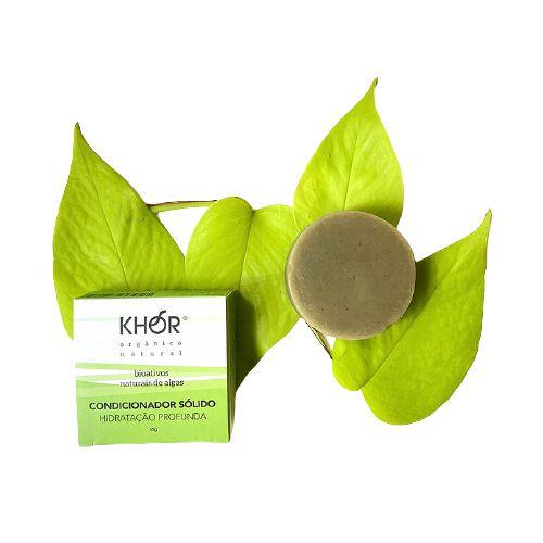 Condicionador Sólido (Hidratação Profunda) 55g Khor